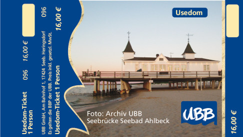 Usedom-Ticket